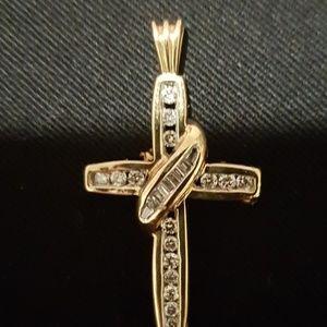 14 Kt. gold  diamond